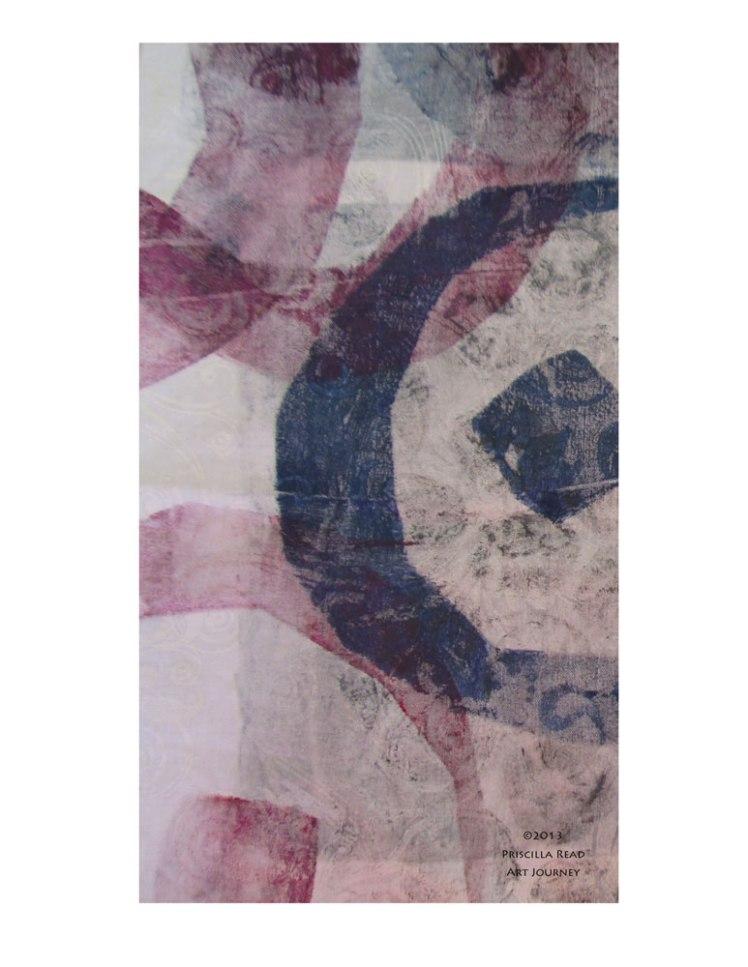 Circle Series Monoprint