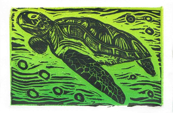 Turtle Black_Green