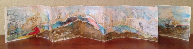 """Collage book 7 3/4"""" x 58"""""""